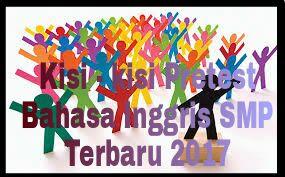 DOWNLOAD KISI - KISI PRETEST PKB BAHASA INGGRIS 2017