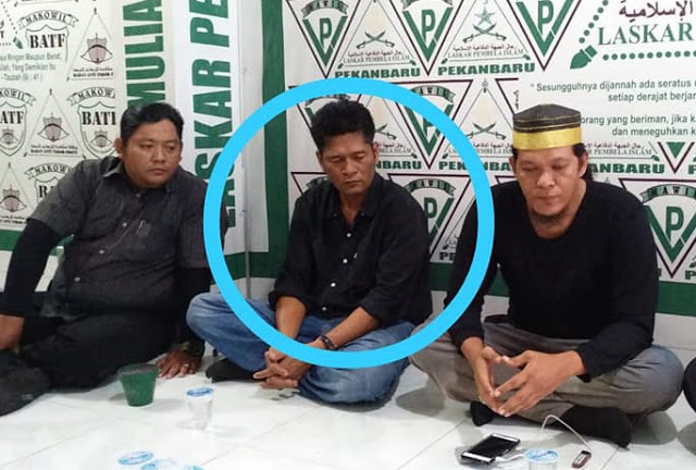 Polda Riau Tak Menahan Jony Boyok Yang Diduga Menghina UAS Di Medsos
