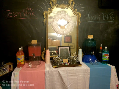 Gender Reveal Party on a Budget decor