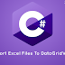 Tutorial Cara Export DataGridView ke Excel Windows Forms C# Di Visual Studio 2017