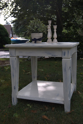Distressing with Annie Sloan Chalk Paint