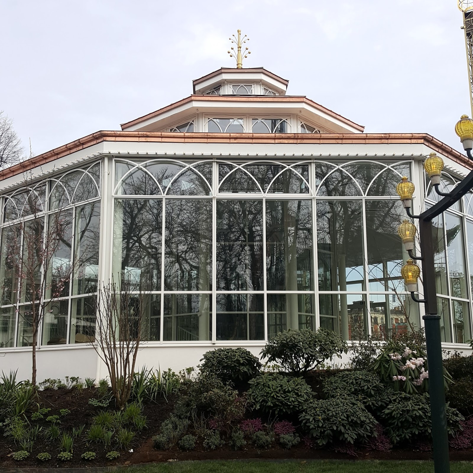 Sussi's Sussinghurst: Tivoli åbner