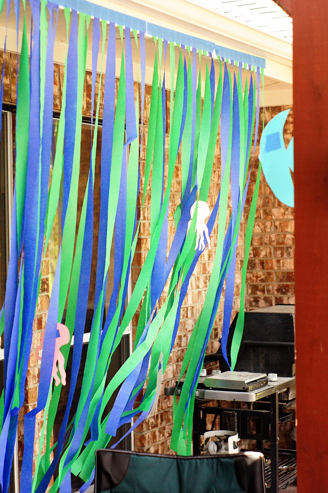 Swimming Pool Party Decorations
