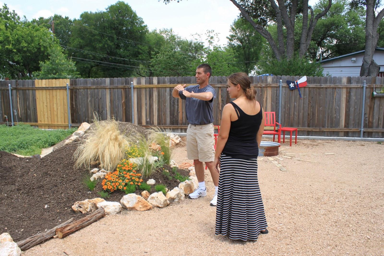 Rock Oak Deer Visting Xericstyle Garden