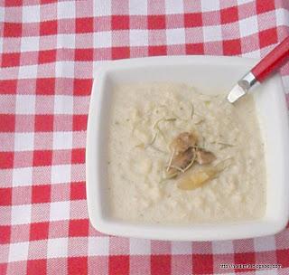 Σούπα με κονουπίδι και πορτσίνι