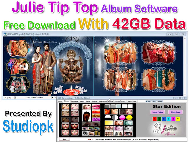Julie Tip Top Album Software Free Download With 25gb Data Studiopk