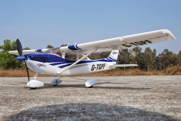 Rc Helicopter Toys Malaysia: Cessna 182 skylane RTF Trainer Top Gun