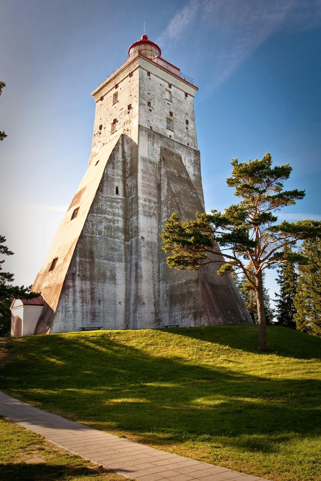 Beautiful Lighthouses around the World - Kõpu Lighthouse, Estonia
