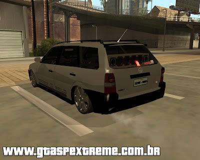 Vw Parati G4 Track & Field Edit para GTA San Andreas