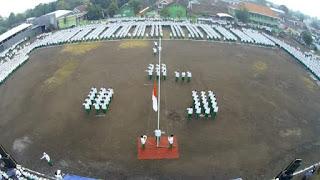 Rayakan HUT RI ke-71, Sidogiri Gelar Istighatsah, Upacara Bendera dan Lomba Agustusan