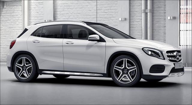 Mercedes GLA 250 4MATIC 2019 là chiếc xe SUV, 5 chỗ thiết kế ngoại thất thể thao, mạnh mẽ