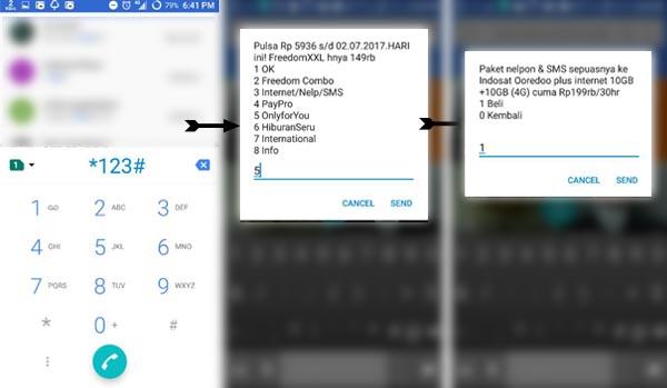 Kode Dial Rahasia Internet Murah Indosat Ooredoo