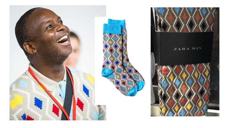 Brand Guru Thebe Ikalafeng slam Spanish giant fashion ZARA copying maXhosa