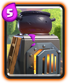 Fornalha Clash Royale Carta