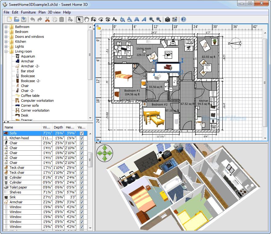 Sweet Home 3D Gratis Para PC (Diseña Tu Casa)