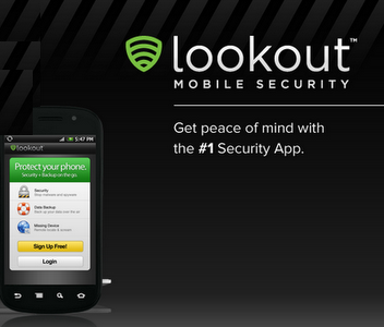 Lookout Android Backup App
