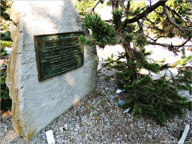The Crevice Gardens en el Jardín Botánico de Montreal