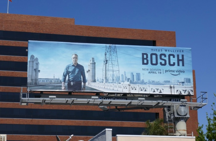Bosch season 5 Amazon billboard