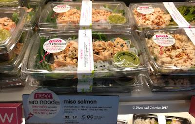 Itsu Zero Noodles Miso Salmon