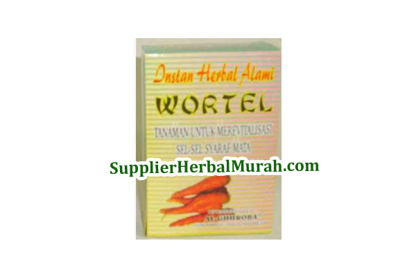 Instan Herbal Alami Wortel
