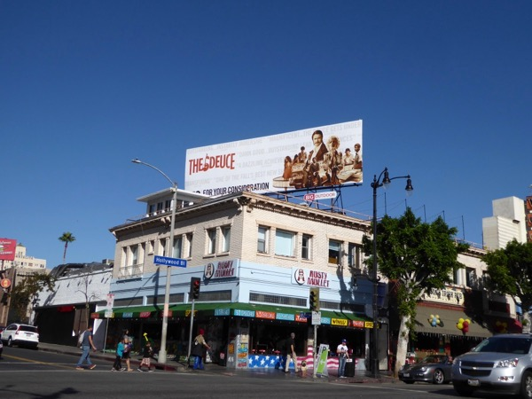 Deuce season 1 FYC billboard