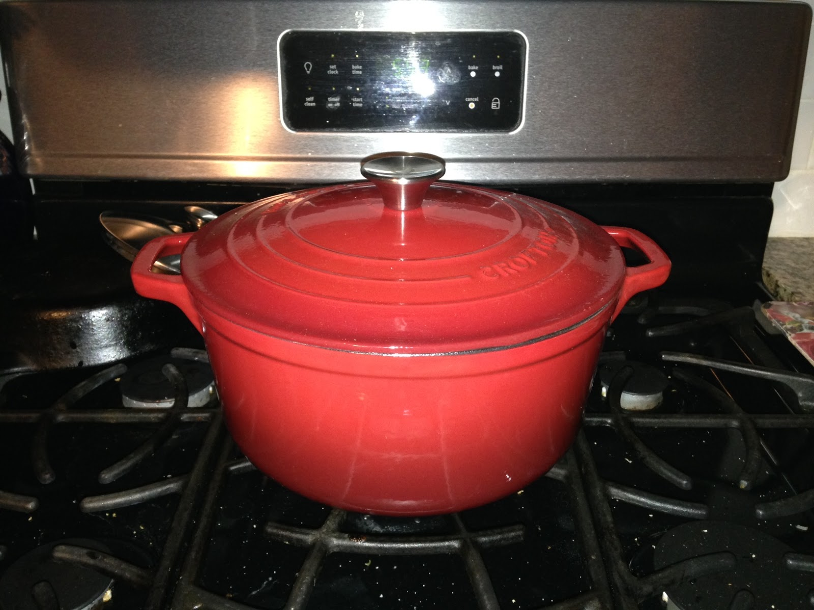 Aldi Saucepans Product Review Crofton Enameled Cast Iron Dutch Oven And Braiser