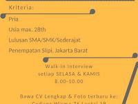 lowongan kerja office boy indo stationery jakarta