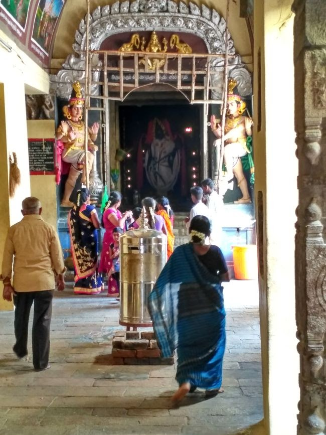 Agora Murthy Shrine At Sri Swetharanyeswarar Temple