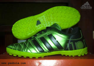 Adidas 11 Pro Gerigi Hijau Metalik
