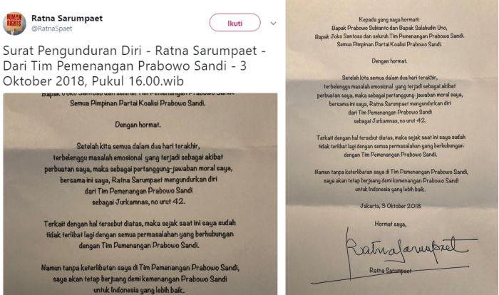 Ratna Sarumpaet Hari ini Tiba-tiba Unggah Foto ini di Twitter