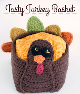 Yarn Turkey Basket