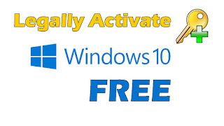 Legally Activate Windows 10 All Versions for FREE : New method