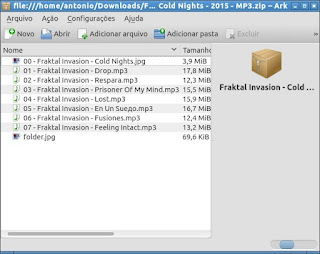 Ark descompacte seus arquivos com facilidade