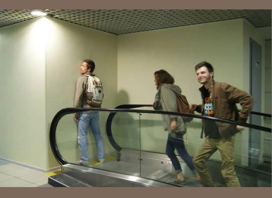 Design Fail - Escada rolante pra lugar nenhum