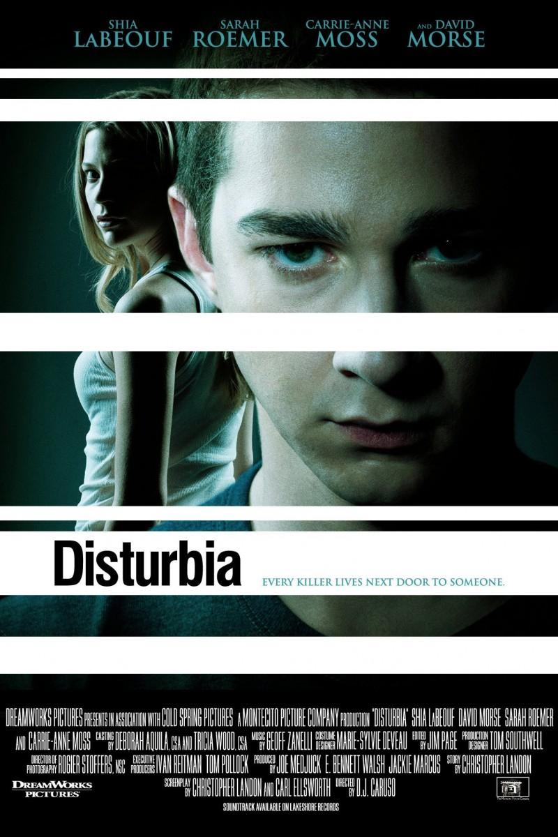 Disturbia (2007) Dual Audio 720p BluRay [Hindi + English] ESubs