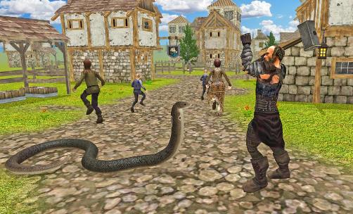 seseorang membunuh ular dalam mimpi