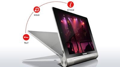 Ashton Kutcher, 18 saat pil ömrüne sahip Lenovo'nun Yoga Tablet'inin tasarım mühendisi oldu