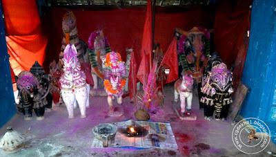 Temple Of Kachan Dhurwa