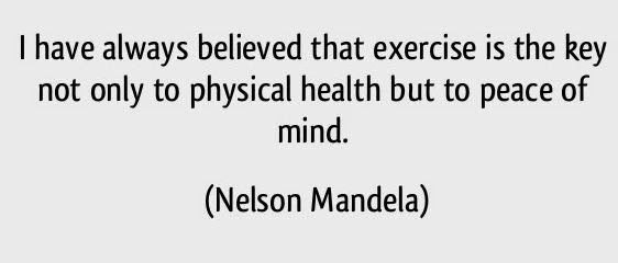 peace of mind nelson Mandela