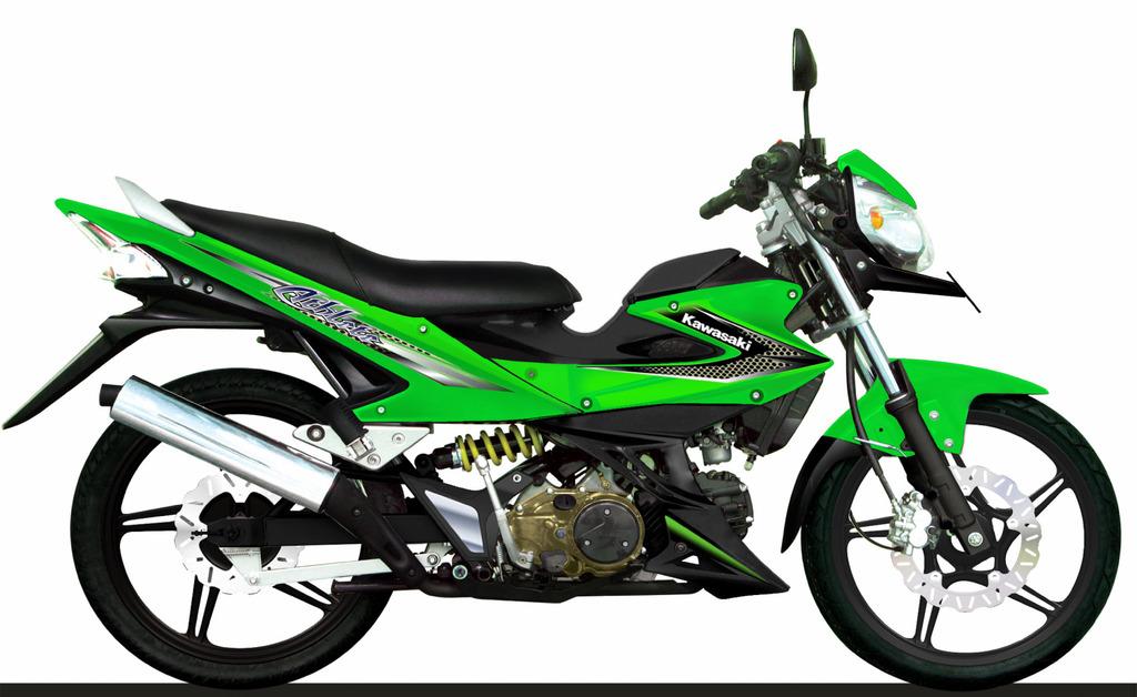 Harga Motor Moped Kawasaki