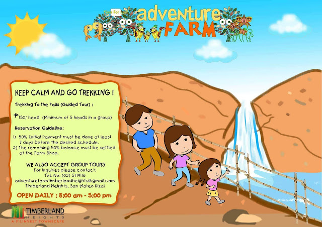 adventure farm trekking rates