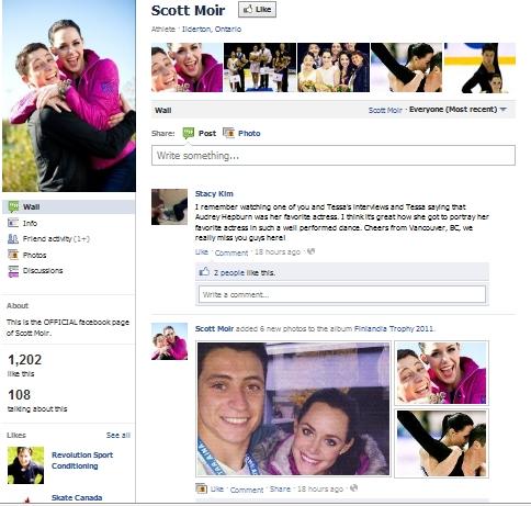 Jessica dube scott moir dating 2010 7