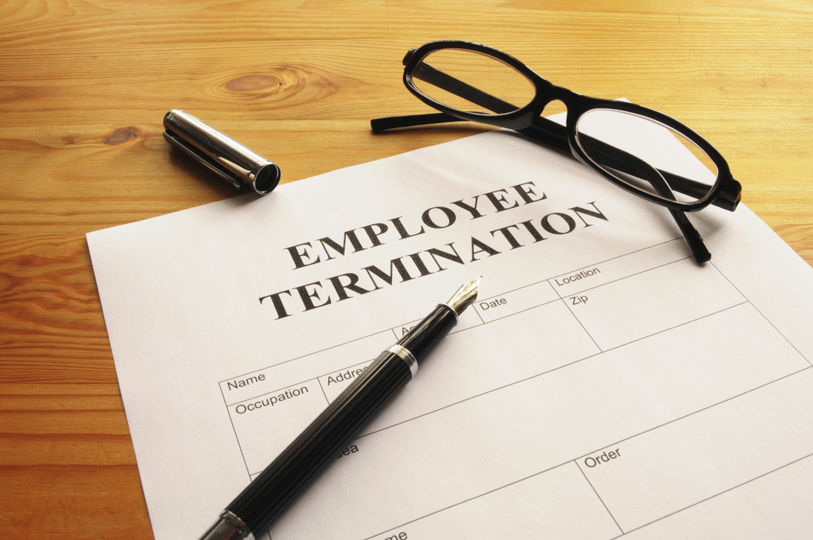 Advice to Employers upon Termination of an H-1B Employee
