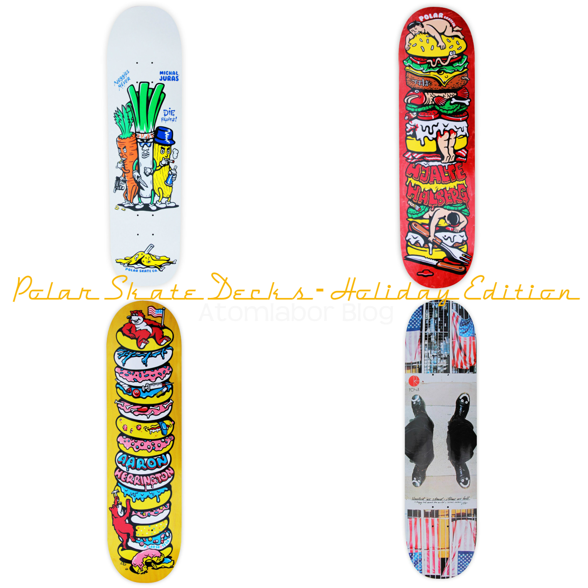 Polar Skate Decks Serie - Winter 2014 ( 13 Bilder - 1 Video )