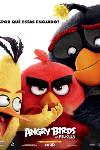 Angry Birds: La película (2016) DVDRip Español Latino