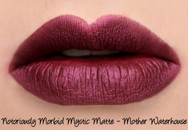 Notoriously Morbid Mystic Matte - Mother Waterhouse Swatches & Review