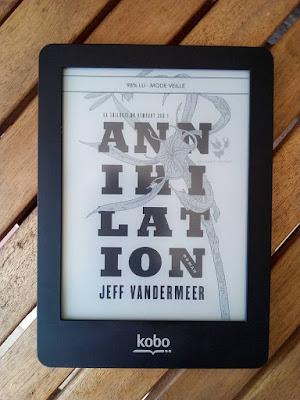 Annihilation - Jeff Vandermeer - Au Diable Vauvert