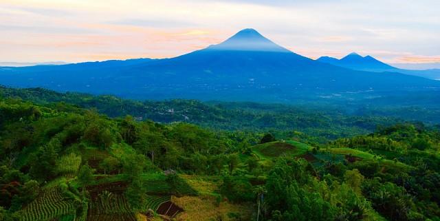 1. Gunung Papandayan