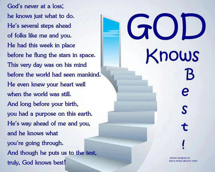 My Heart Knows God Quotes