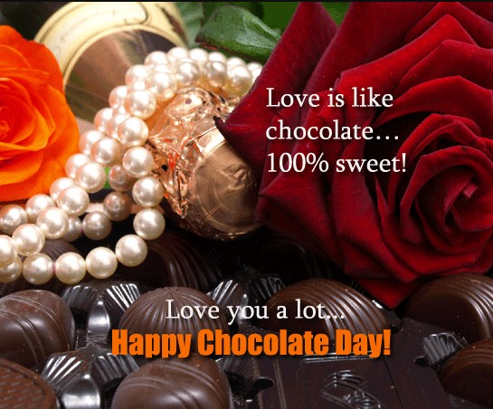 chocolate day 2018 sms